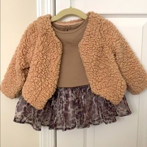 Pippa & Julie tunic, leggings and jacket set